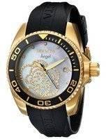 Invicta Angel Collection diamantes relógio 0489 de Ouro Tone feminino