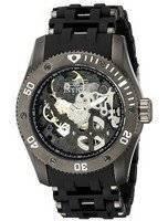 Invicta Sea Spider Black Skeleton Dial 1263 Men's Watch