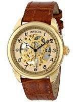 Invicta Specialty Gold Skeleton Dial 17188 Men's Watch