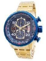 Invicta Aviador Quartz Chronograph Taquímetro Compass 19173 Men Watch