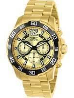 Relógio masculino Invicta Pro Diver 22715 Quartz Chronograph 100M