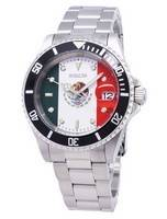 Invicta Pro Diver 28702 Limited World Soccer Mexico Edition Automatic 200M Men's Watch