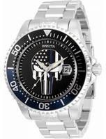 Invicta Pro Diver Skull Black Dial Automatic 31928 300M Men's Watch