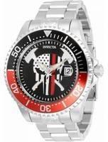 Invicta Pro Diver Skull Black Dial Automático 31929 300M Relógio Masculino