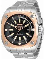 Invicta Reserve Black Dial Stainless Steel Automatic 32060 100M Men's Watch