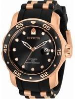 Invicta Pro Diver Black Dial Automatic 33340 200M Men's Watch