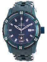 Relógio masculino Invicta US Army Automatic Dial Verde 34231 100M