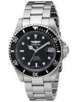 Relógio Invicta automático Pro Diver 200m mostrador preto INV8926OB/8926OB masculino