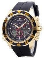 Citizen Eco-Drive Promaster Chronograph World Time JR4046-03E JR4046 Men's Watch