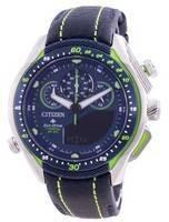 Relógio masculino Citizen Promaster Calendário Perpétuo Eco-Drive JW0148-12L 200M