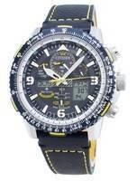 Relógio Citizen PROMASTER Skyhawk AT Eco-Drive JY8078-01L, controlado por rádio, 200M masculino