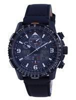 Relógio masculino Citizen Promaster Skyhawk cronógrafo controlado por rádio Eco-Drive JY8085-14H 200M