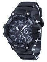 Relógio de quartzo cronógrafo Casio MCW-100H-1A3V MCW100H-1A3V homens