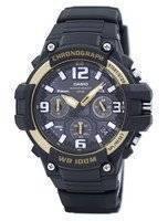 Relógio Analógico Casio Cronógrafo MCW-100H-9A2VDF MCW100H-9A2VDF
