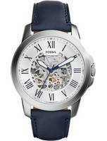 Fossil Grant Automatic Silver Skeleton Dial ME3111 Men's Watch