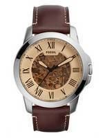 Fossil Grant Automatic Skeleton Dial ME3122 Men's Watch