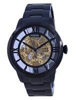 Relógio masculino Fossil Townsman Skeleton Dial aço inoxidável ME3197 automático