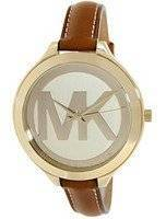 Michael Kors Runway Champagne Dial With MK Logo MK2326 Women's Watch