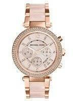 Michael Kors Parker Swarovski Crystals MK5896 Women's Watch