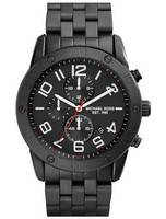 Michael Kors Mercer Chronograph Quartz Black Ion Plated MK8350 Men's Watch