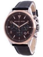 Relógio masculino Michael Kors Gage cronógrafo de quartzo MK8786 100 milhões