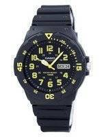 Casio Quartz Analog Black Dial MRW-200H-9BVDF MRW-200H-9BV Men's Watch