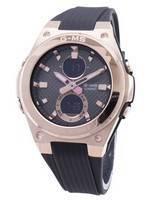 Relógio Casio BABY-G G-MS MSG-C100G-1A MSGC100G-1A de quartzo para mulher