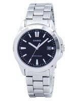 Casio Quartz Analog Black Dial Stainless Steel MTP-1215A-1A2DF MTP-1215A-1A2 Men's Watch