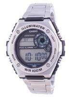 Casio Youth Dual Time MWD-100HD-1A MWD100HD-1 100M Men's Watch