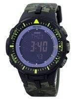 Casio Protrek World Time Low Temperature Tough Solar Digital PRG-300CM-3 PRG300CM-3 Men's Watch