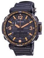 Casio Protrek World Time Quartz PRG-600YB-1 PRG600YB-1 100M Men's Watch