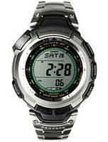Casio Protrek Tough Solar Titanium PRG-110T-7VDR PRG110T PRG110T-7V Triple Sensor Watch