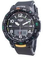 Relógio Casio PROTREK Quad Sensor PRT-B50-1 de bússola digital para homens de quartzo