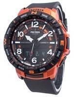 Relógio Casio PROTREK Quad Sensor PRT-B50-4 de bússola digital de quartzo para homem