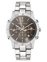 Trussardi T-estilo cronógrafo de quartzo R2473617003 relógio dos homens