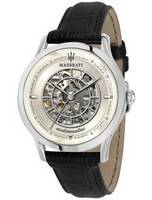 Maserati Ricordo Skeleton Dial Automatic R8821133005 100M Men's Watch