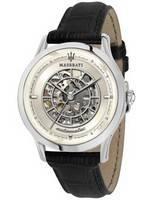 Maserati Ricordo Skeleton Dial automático R8821133005 100M relógio masculino