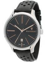 Maserati Attrazione Black Dial Quartz R8851126003 100M Men's Watch