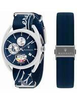Maserati Trimarano Yacht Timer Chronograph Quartz R8851132003 100M Men's Watch
