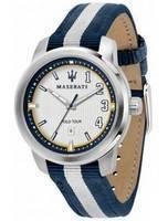 Maserati Royale Polo Tour Edição Limitada Quartz R8851137005 Relógio Masculino