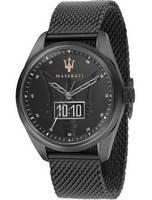 Maserati Traguardo Black Dial Quartz R8853112001 100M Relógio Masculino