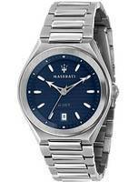 Maserati Triconic Blue Dial Quartz R8853139002 100M Men's Watch