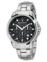 Maserati Successo Cronógrafo Taquímetro Quartzo R8873621001 Men Watch