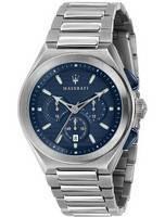 Maserati Triconic Chronograph Quartz R8873639001 100M Men's Watch