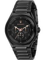 Maserati Triconic Chronograph Quartz R8873639003 100M Men's Watch