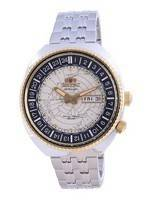 Orient World Map Revival Stainless Steel Automatic Diver's RA-AA0E01S19B 200M Men's Watch