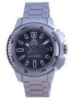 Relógio masculino Orient M-Force Black Dial Diver automático RA-AC0N01B10B 200M