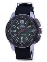 Relógio masculino Orient M-Force com mostrador verde em aço inoxidável RA-AC0N03E10B 200M
