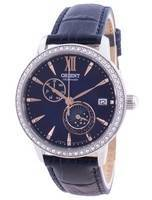 Orient Sun & Moon Phase Diamond Accents Automatic Japan Made RA-AK0006L00C Women's Watch