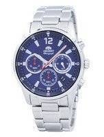 Orient Sports Chronograph Quartz Japan Made RA-KV0002L00C Men's Watch
